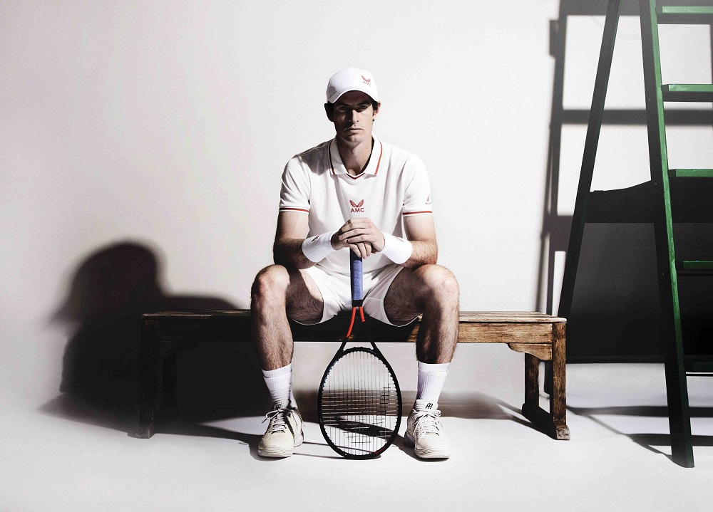 Andy Murray will compete at Wimbledon in an innovative merino wool performance kit developed by AMC and The Woolmark Company.