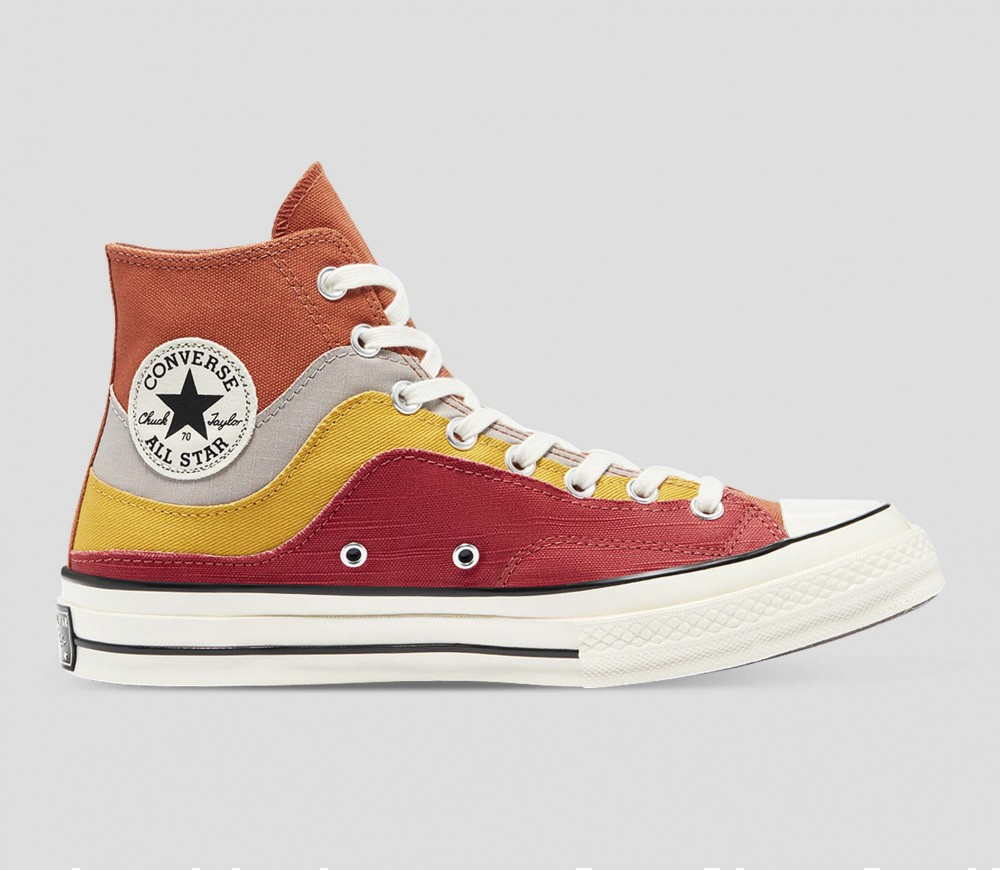 Converse's National Parks collection includes a Chuck 70 with reds, oranges and yellows, similar to Cecilia Monge's design