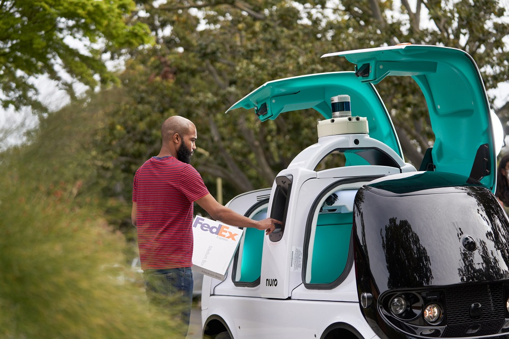 FedEx Corp. and Nuro announced a multi-year, multi-phase agreement to test Nuro's next-generation autonomous delivery vehicle with FedEx.