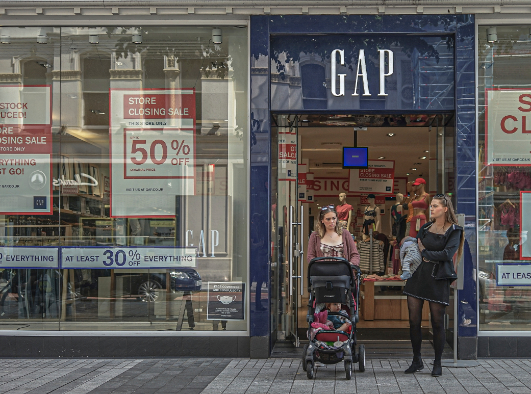 """Gap is looking at an """"asset-light"""" model for its overseas stores, and the locations set to close have leases that expire at the end of July."""
