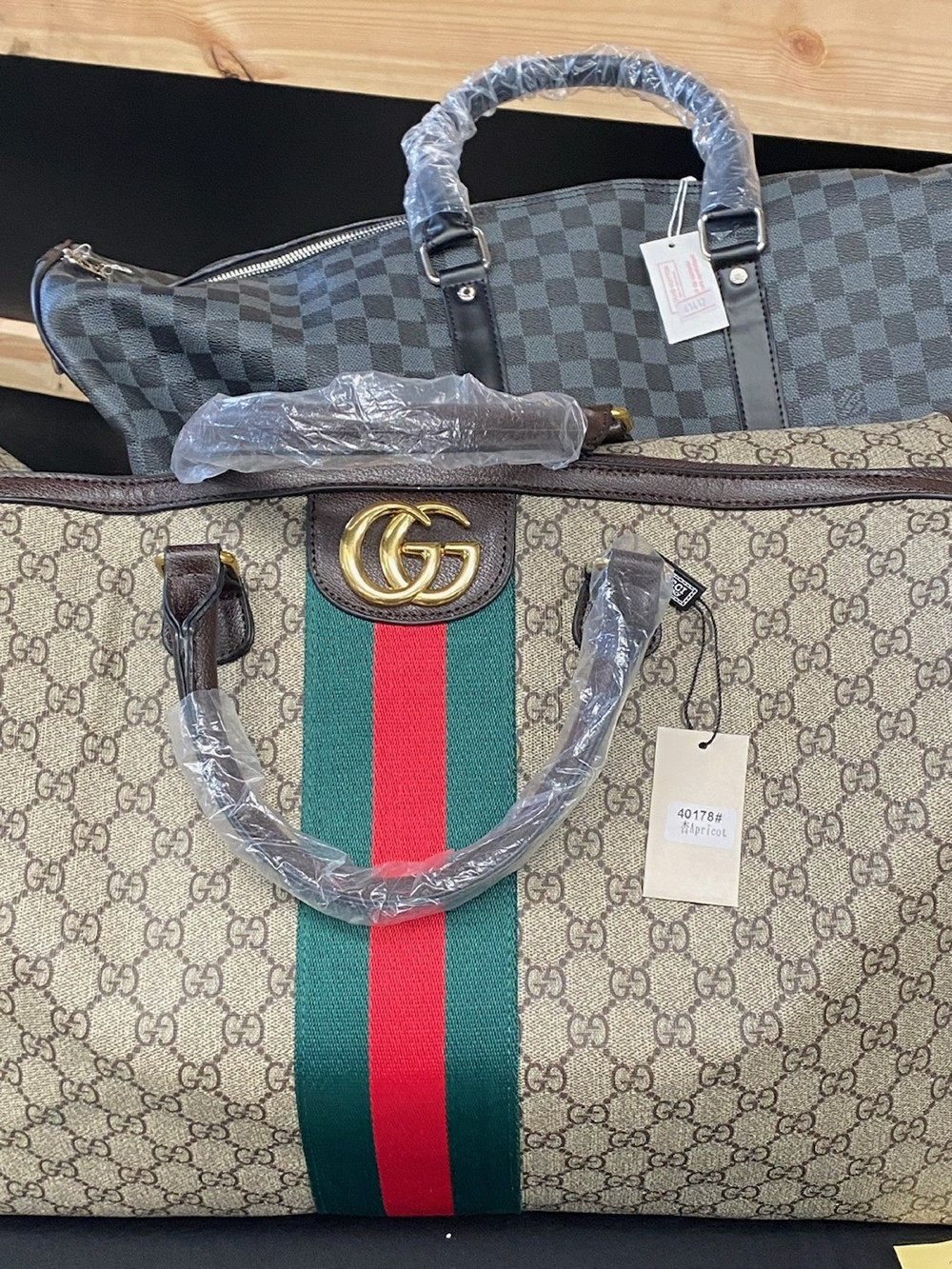 Agents with Homeland Security Investigations Dallas seized $1.3 million worth of counterfeit goods at the First Monday Trade Days market in April.