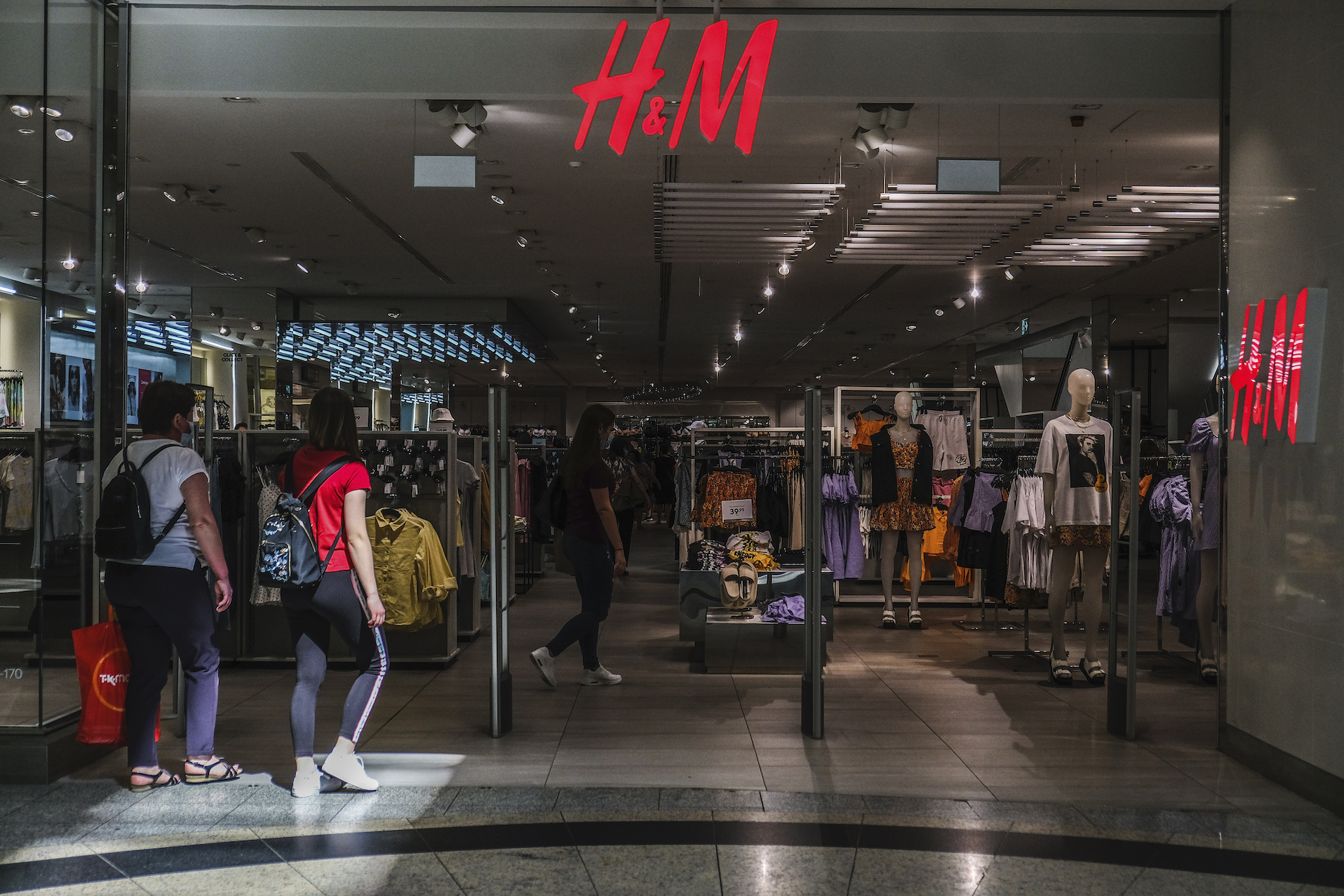 Despite being hampered in major European markets due to H&M Group saw net sales grow 75 percent in local currencies in its second quarter to 46.5 billion Swedish kronor ($5.59 billion), up from 28.6 billion kronor (then $3.06 billion) in the year-ago period; or 62 percent on a constant-currency basis when accounting for the strengthening of the kronor.