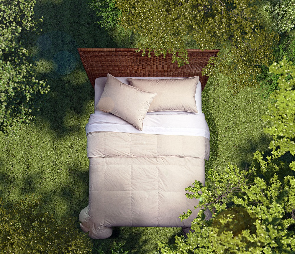Allied Home, a manufacturer of bedding products has launched RENU:700 Performance Recycled Down bedding, helping reduce textile waste.