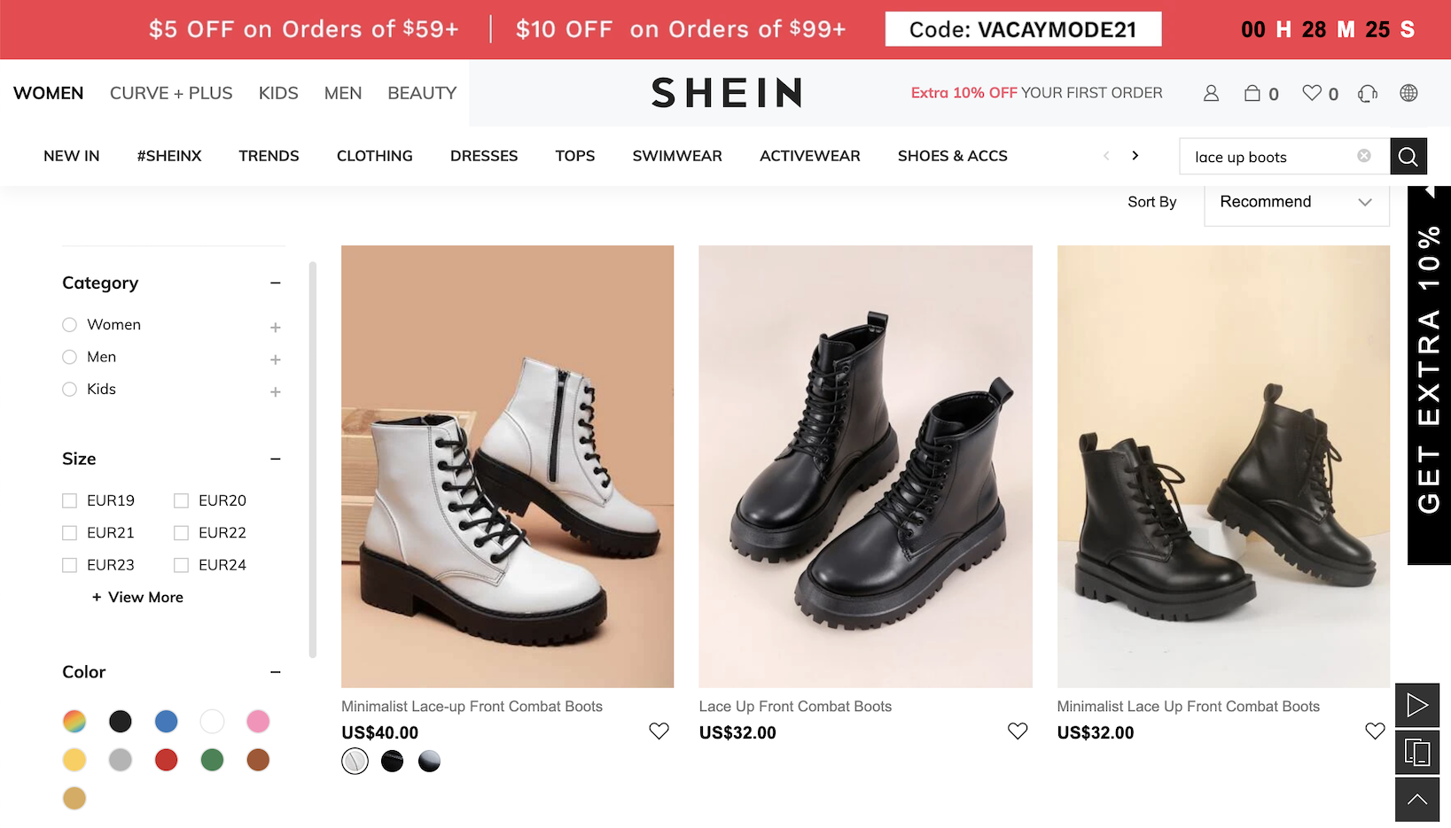 """Dr. Martens' manufacturer AirWair alleges Shein sells 26 """"infringing"""" footwear styles that show """"a clear intent to sell counterfeits."""""""