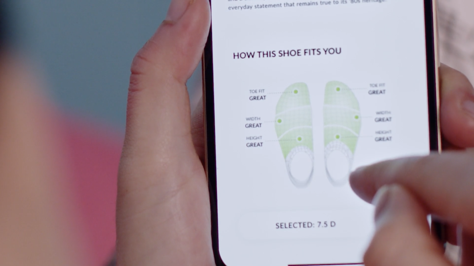 Known for its in-store foot scanner and integrated FitTech suite of 3D scanning and data tools designed to capture the dimensions of shoppers' feet to provide them with accurate shoe recommendations, Volumental now offers the same capabilities for individual shoppers that it did for its retailers via a mobile device.