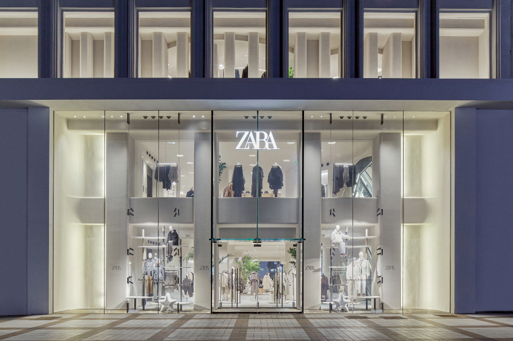 Pent-up demand for fashion apparel boosted the Zara parent's sales in the first quarter, and momentum has continued into the start of Q2.