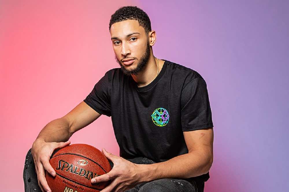 Australian-born NBA All-Star Ben Simmons has collaborated with AWI to develop a performance T-shirt made from Australian merino wool.