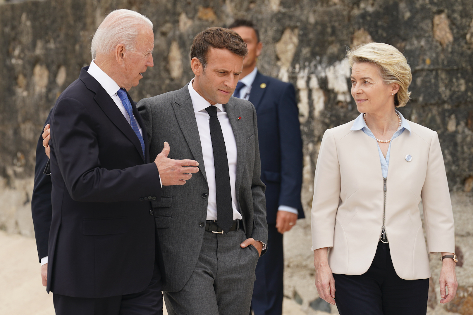 As President Biden visits E.U. leaders on June 15, both sides expect to agree to end their tariff dispute by Dec. 1, according to reports.