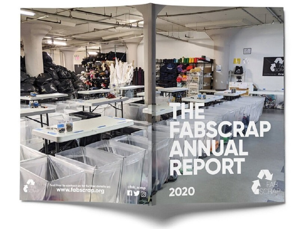 Fabscrap, which has diverted 655,710 pounds of fabric from landfills since 2016, was unprofitable for the first time in 2020 due to Covid.