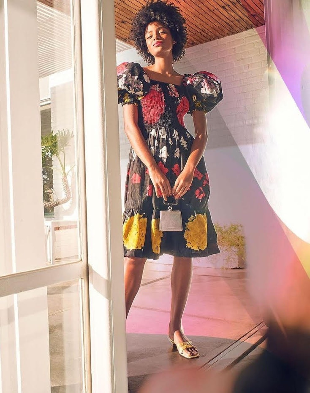A dress by Busayo, a new addition to the Saks Fifth Avenue assortment.