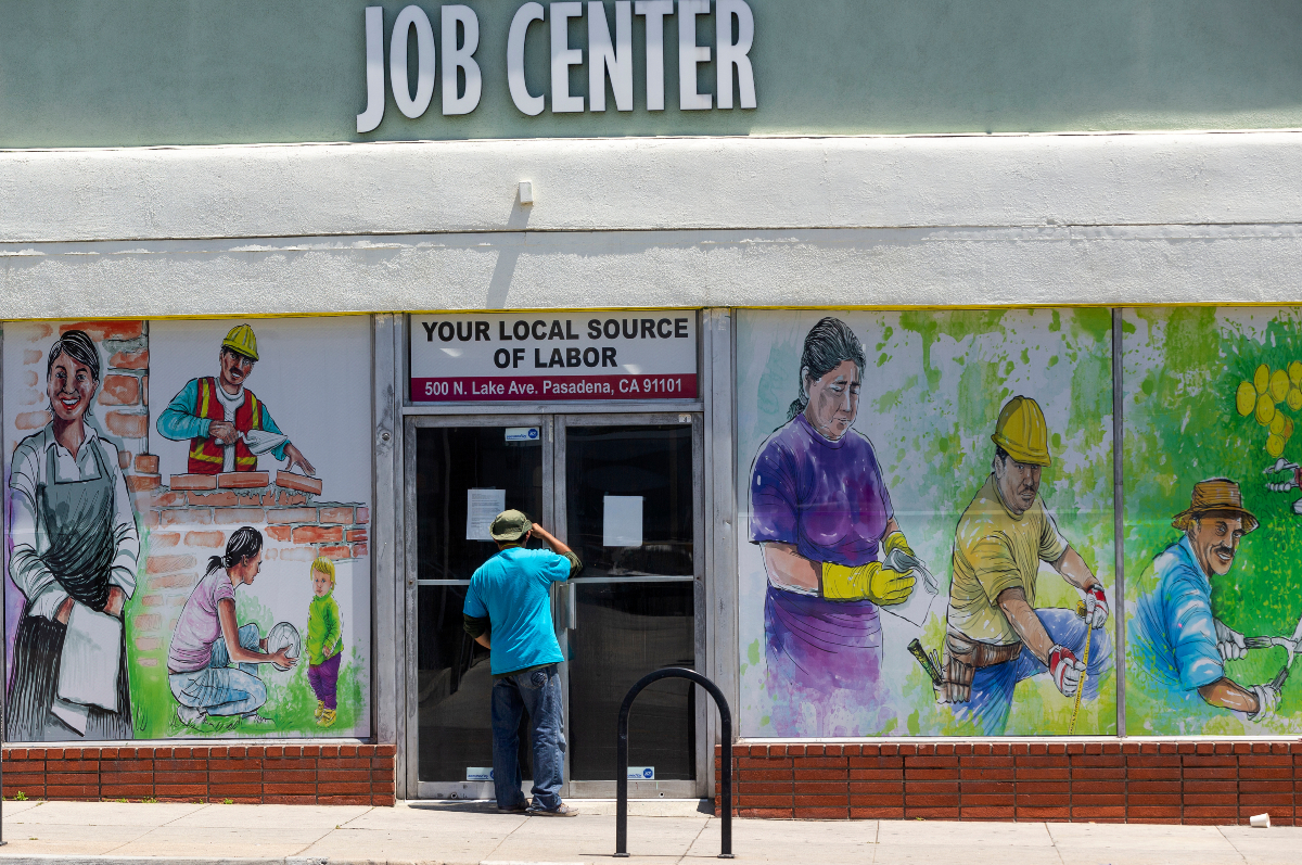 L.A. still outpaces the rest of the country when it comes to joblessness, with 11.7 percent of its workforce unemployed as of late April