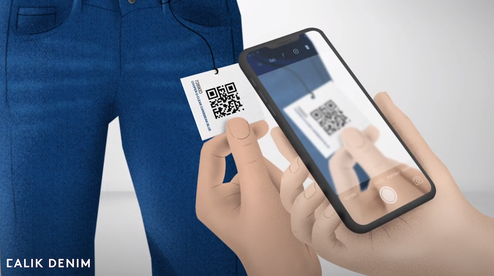 Calik Denim launched a QR Code Integrated System for fabrics to allow clients easy access to supply chain data.