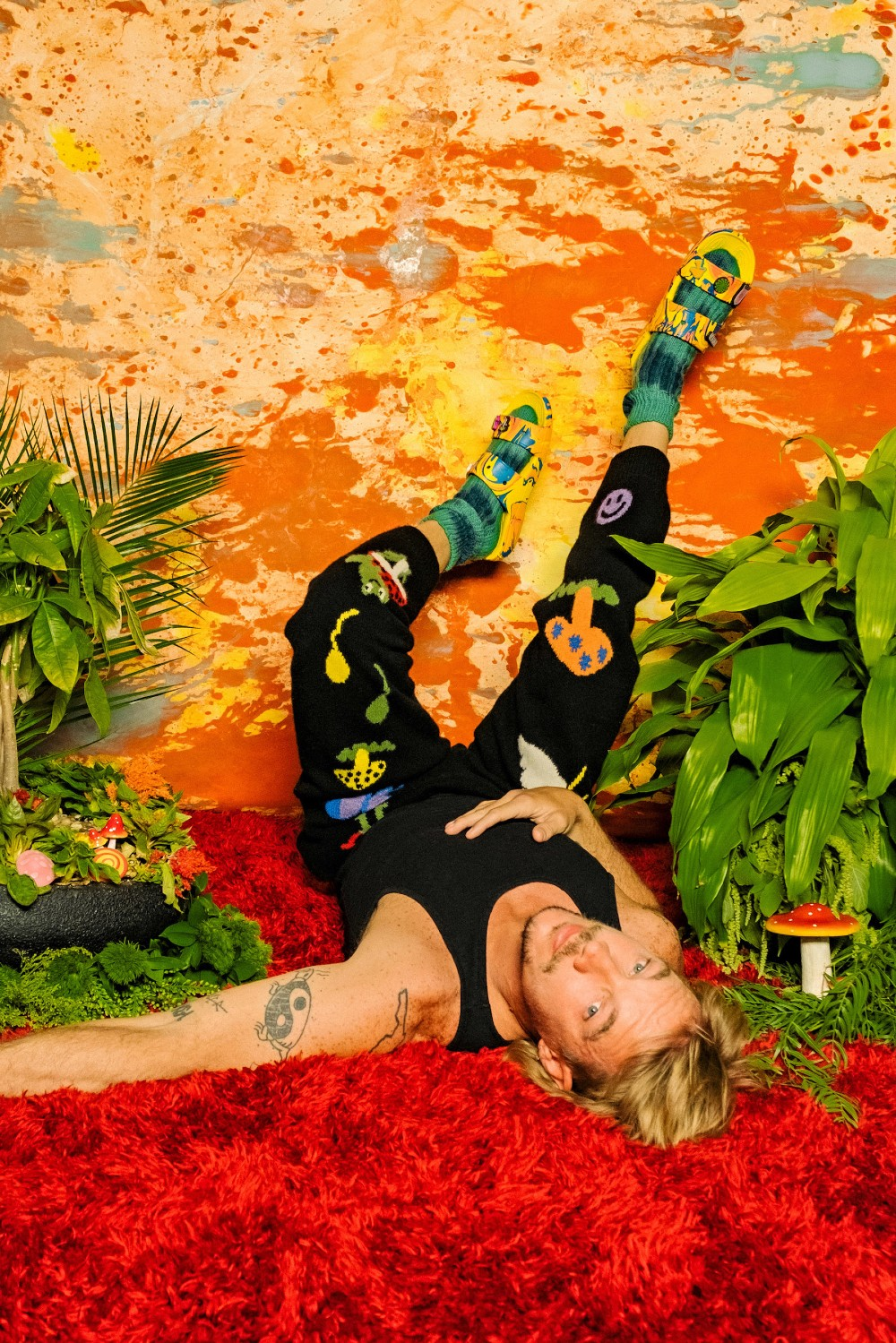 Diplo will debut his first line of clogs and sandals with Crocs on Tuesday.