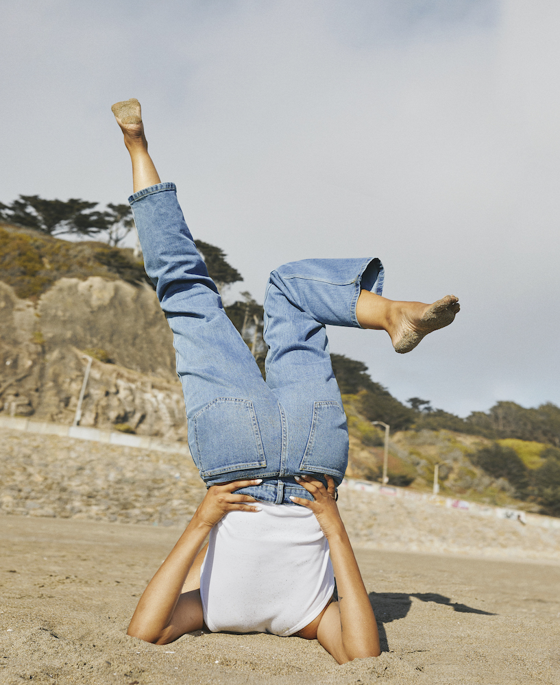 Everlane introduced Clean Denim, a range of three denim styles made of organic cotton and Roica V550, a sustainable stretch yarn.