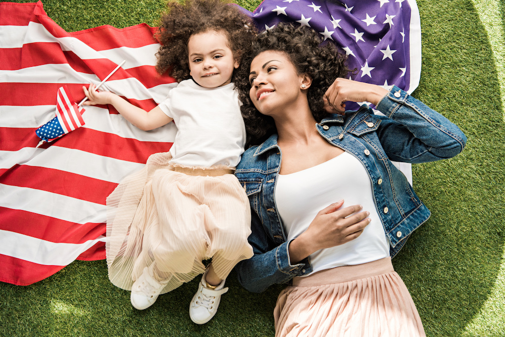 Celebrate the Fourth of July with red, white and blue summer denim and non-denim garments that blue bloods are sure to love.