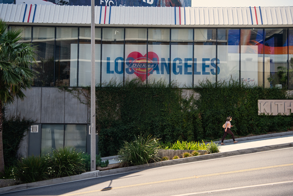 Celebrating its 60th anniversary, Fred Segal announced Friday the opening of Fred Segal x Dickies Loves LA, a two-month popup shop.