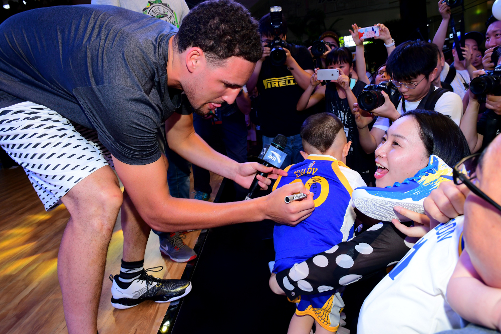 Leaders of the Congressional-Executive Commission on China encouraged NBA players like Klay Thompson and Jimmy Butler to either push their brand partners to stop using XInjiang cotton or to end their endorsement deals.