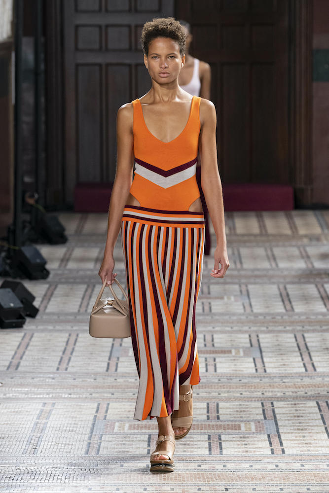 Trendalytics reports that bright colors and bold patterns are trending as maximalism takes over post-Covid-19.