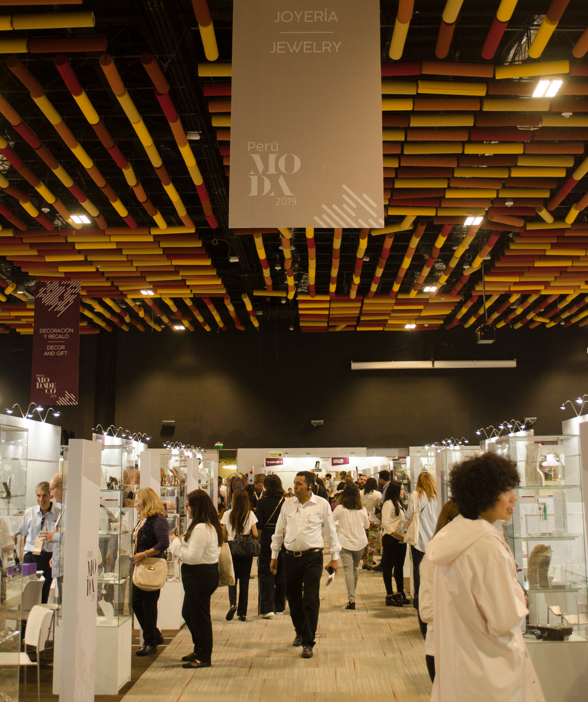 Peru Moda, Peru's bi-annual textiles fair, showcased growing eco-friendly products as the nation looks to bolster exports and bounce back from Covid.