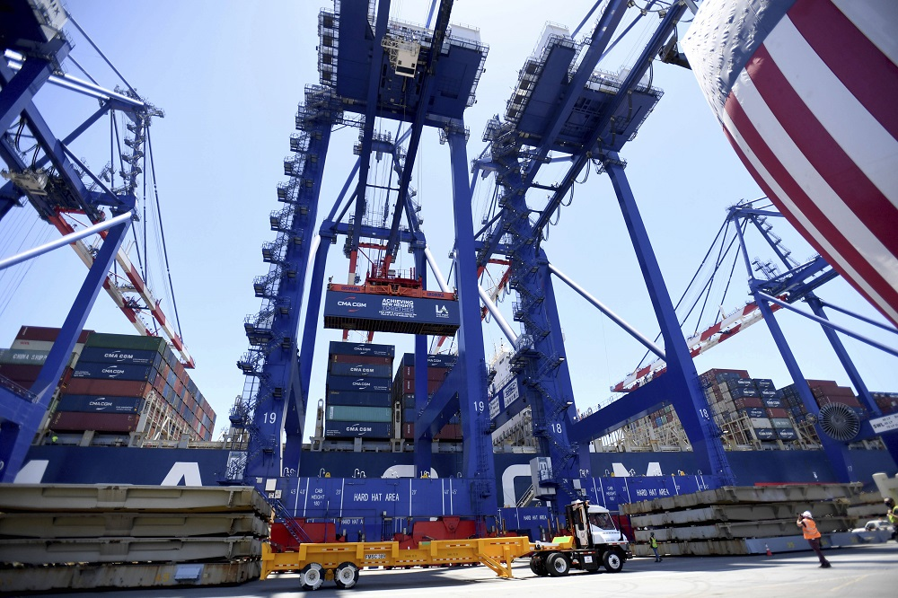 The National Retail Federation has asked to meet with President Biden and administration officials to discuss congestion at U.S. ports.