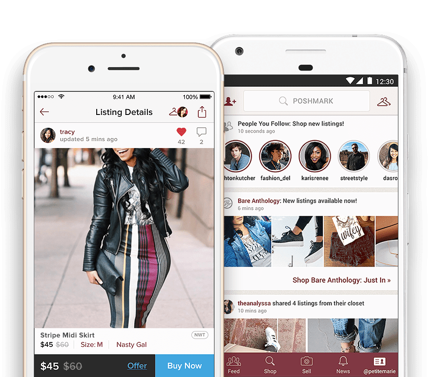 Poshmark CEO Manish Chandra explains why be believes the resale platform has the right product mix as apparel recovers from Covid-19.
