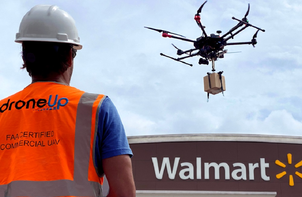 After completing hundreds of drone deliveries, Walmart is investing in DroneUp to develop a scalable last-mile drone delivery solution.