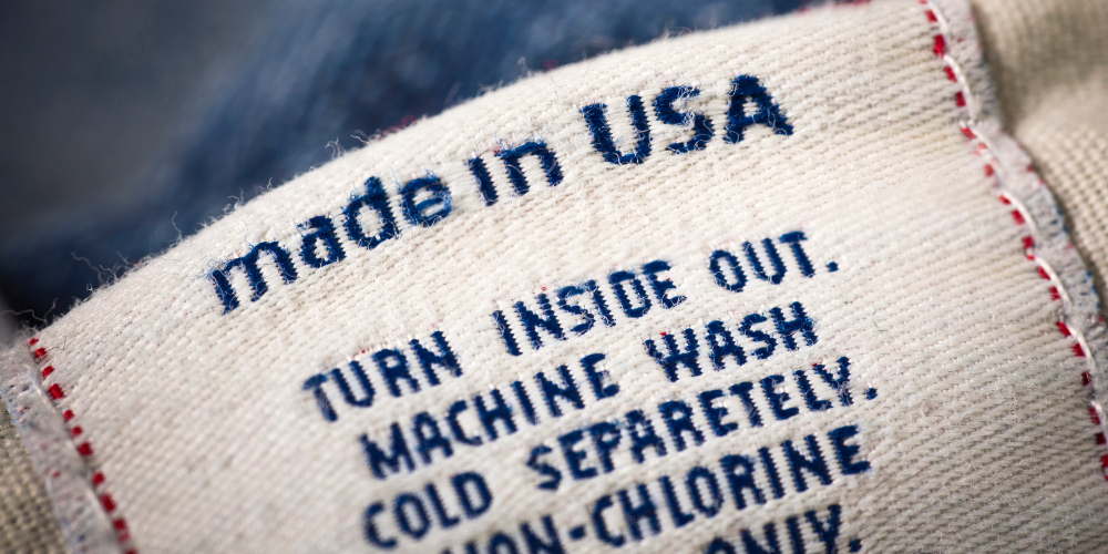 Apparel makers and retailers could benefit from manufacturing at least some of their clothes in America.