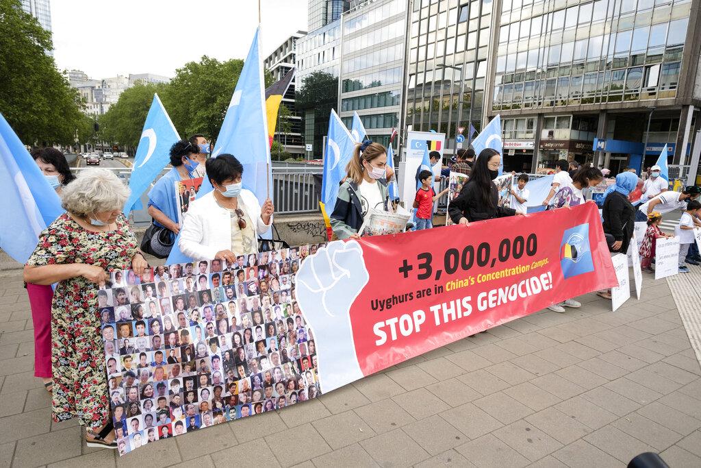 Demonstration Against The Uyghur Genocide - Brussels