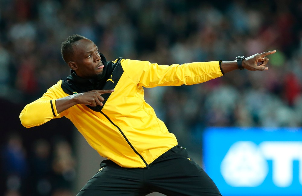 """Olympic champion and Puma partner Usain Bolt said track authorities' acceptance of new spike advancements is """"weird and unfair for a lot of athletes."""""""