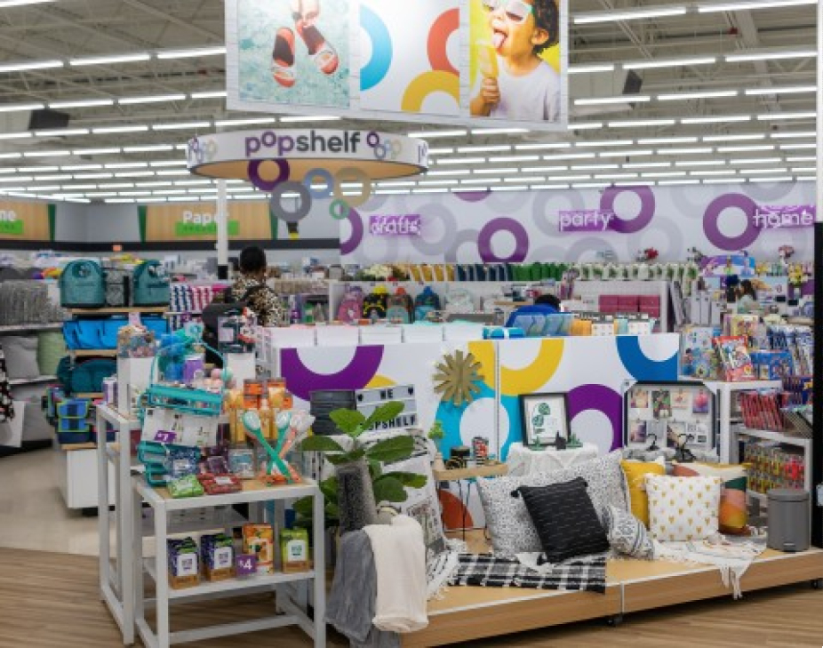 Dollar General adds a smaller pOpshelf footprint in larger DG Market store to combine value and new merchandise options like home decor.