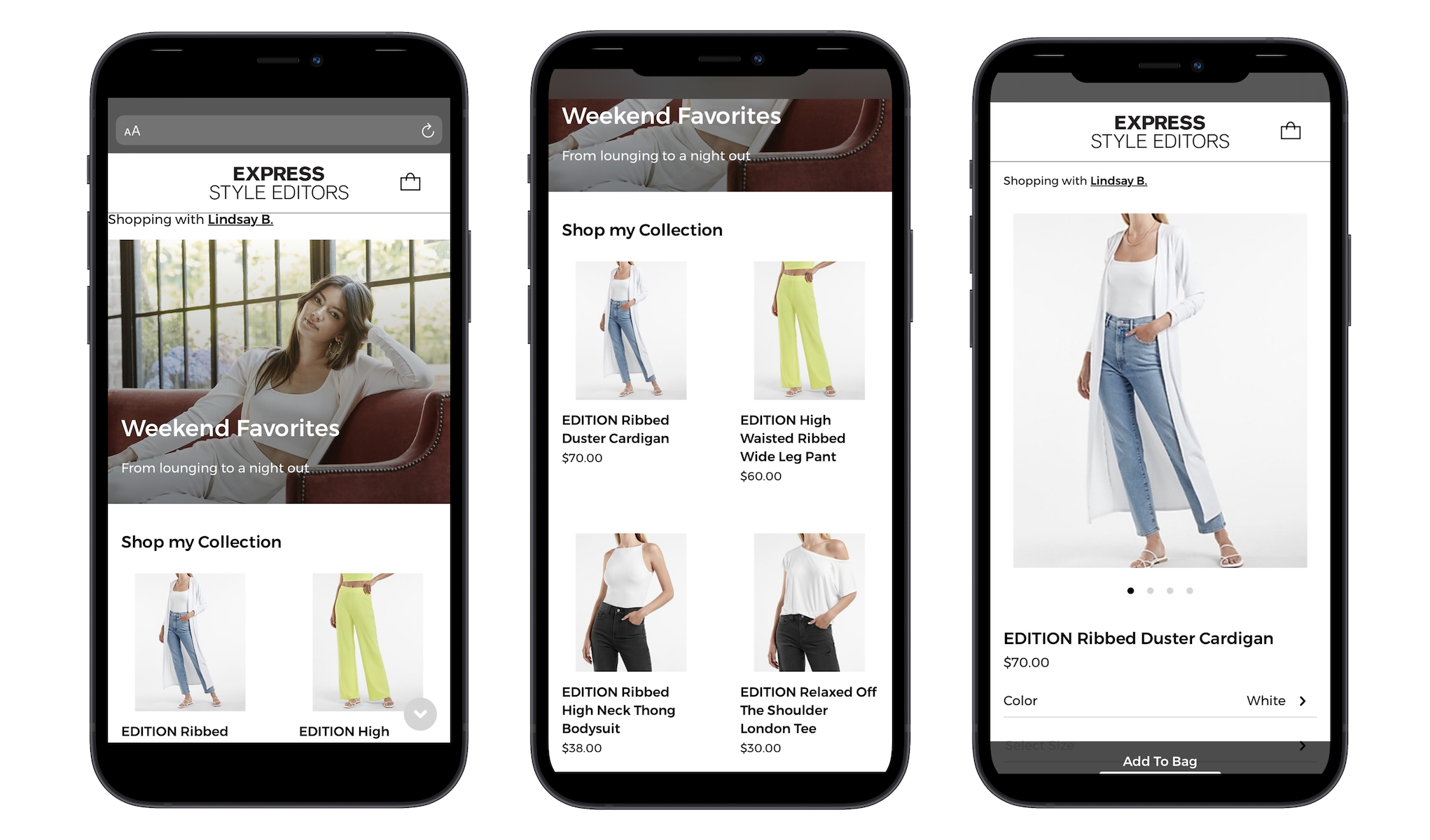 Express has launched Express Community Commerce, a social commerce experience aimed at fashion enthusiasts who want to offer style advice and inspiration, while selling Express products directly to their network.