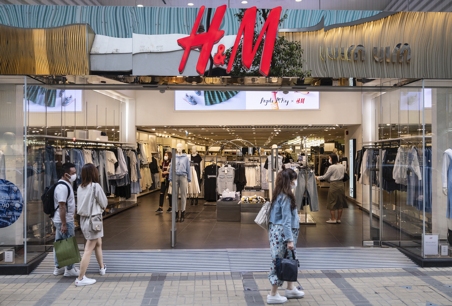 Hennes and Mauritz rebounded in Q2 with 75 percent sales growth to $5.4 billion, but boycotts over Xinjiang seemed to chill sales in China.