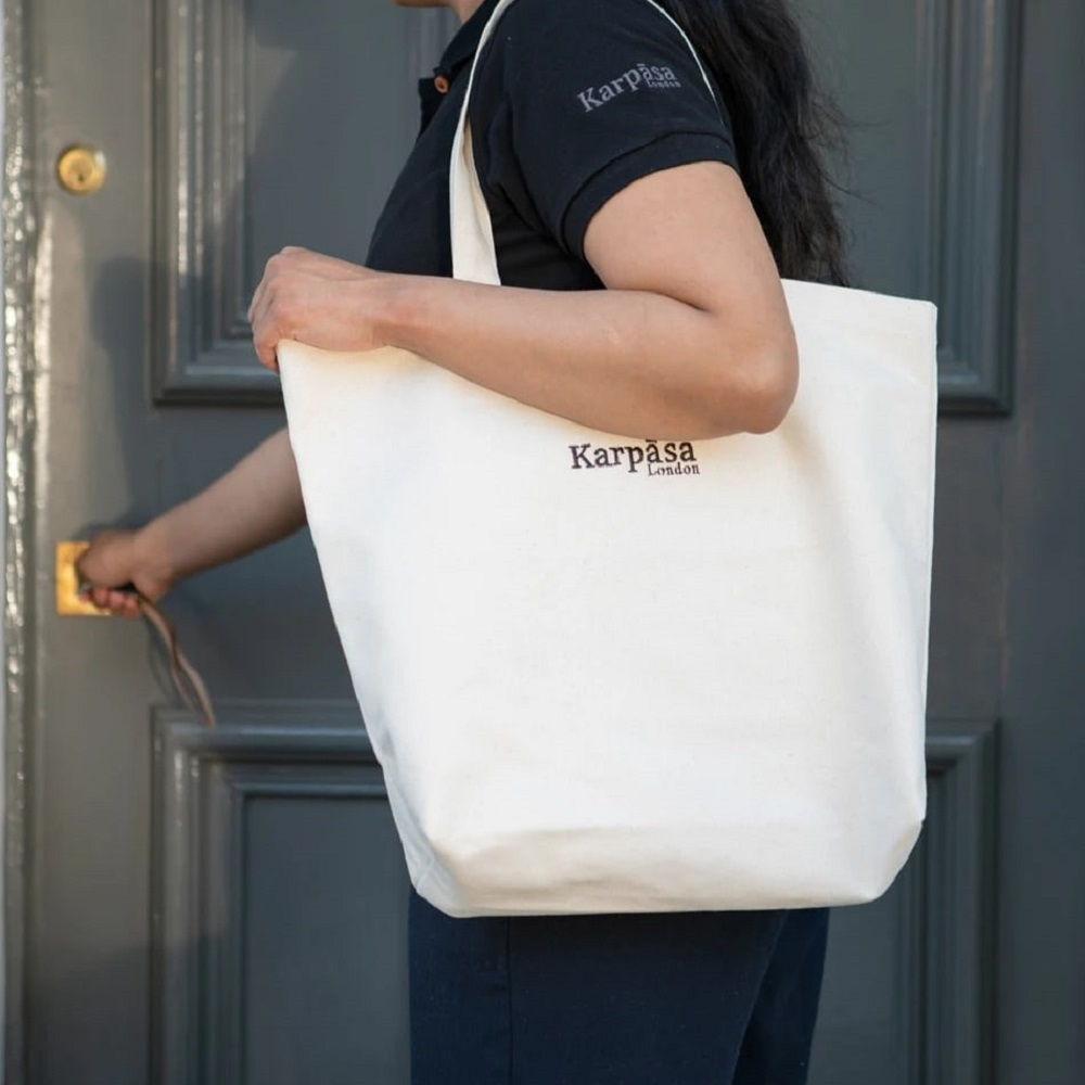 Karpāsa London Ltd., a purpose-driven startup, has opened a 100 percent organic cotton luxury home textiles and apparel online store.