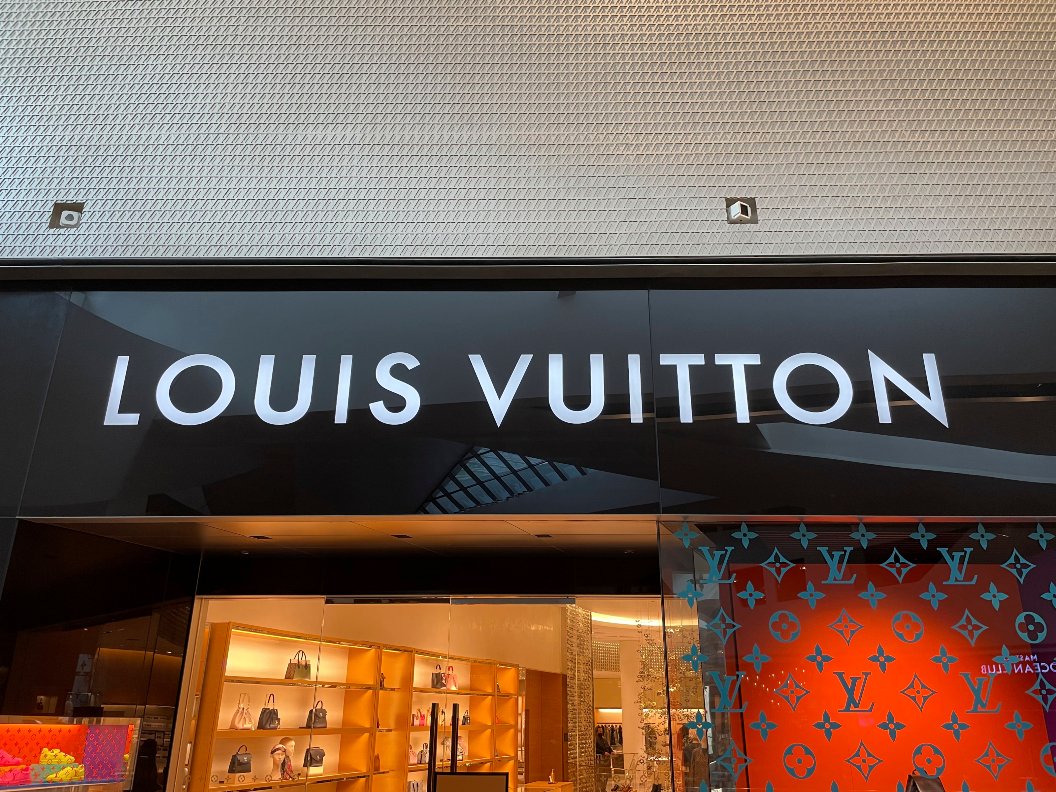 Luxury sales in the U.S and Asia have been rising, with LVMH's Louis Vuitton brand driving sales at its key fashion and luxury goods group.