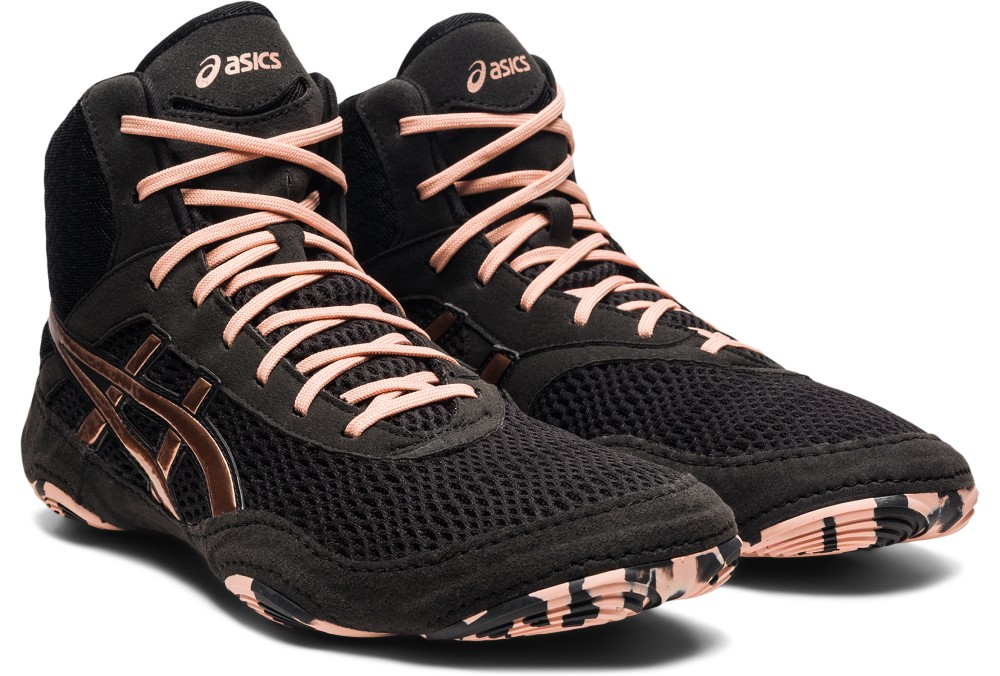 Asics designed its Matblazer wrestling boot for women's feet