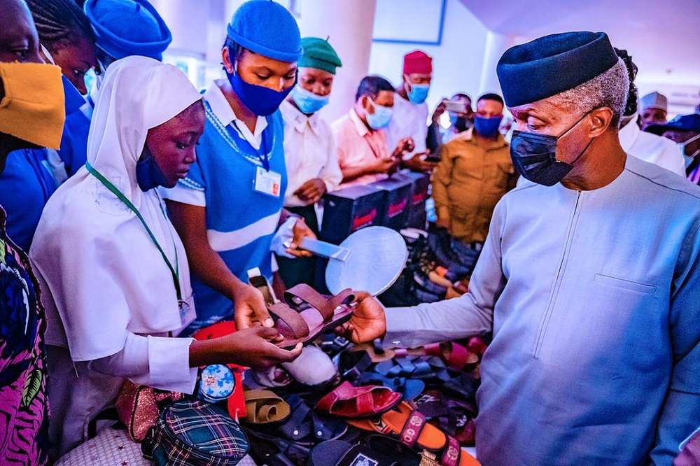 Nigerian vice president Yemi Osinbajo announced the country's National Leather and Leather Products Policy Implementation Plan.