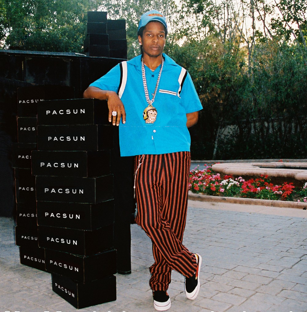 """A$AP Rocky has been tasked with driving """"a new wave of premium streetwear and style"""" at PacSun."""
