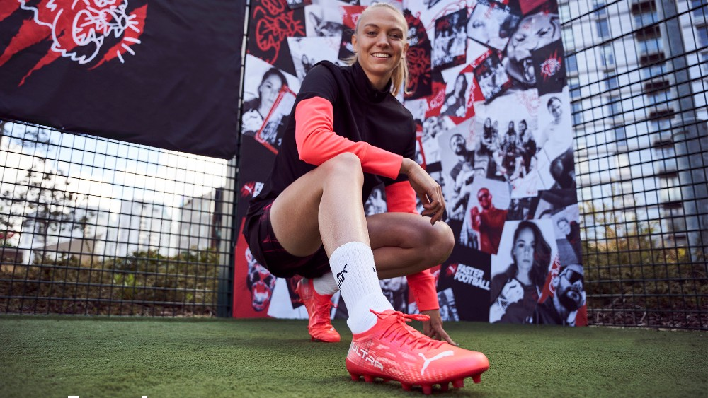 Manchester City's Esme Morgan said she immediately noticed a difference when she tried on the Ultra 1.3 boot.