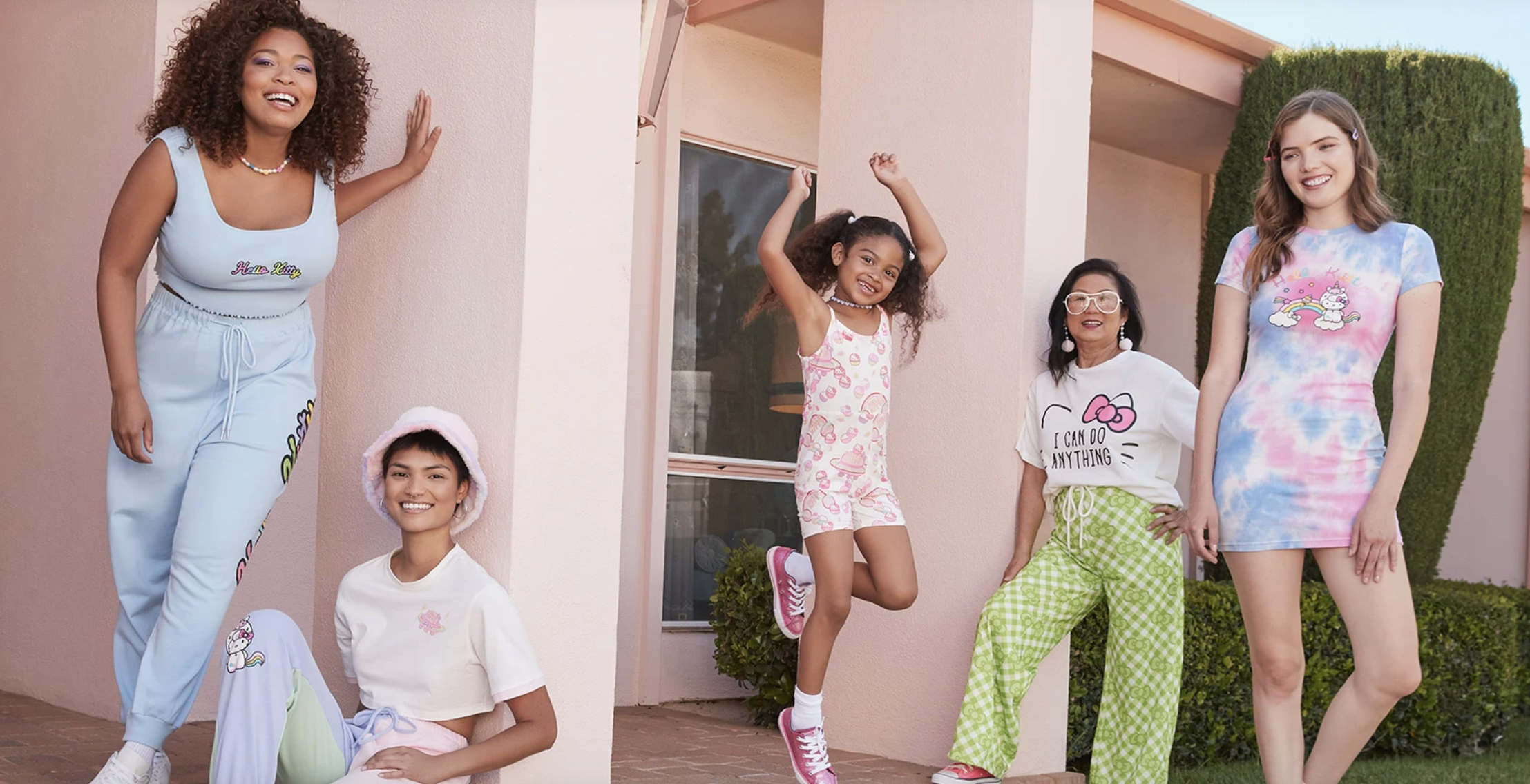 The recently launched, limited-edition Shein x Hello Kitty Collection.