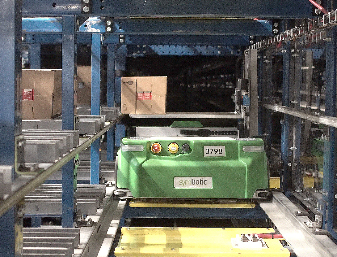Walmart will expand Symbotic's autonomous robotic technology system from a single distribution center in Florida to 25 other DCs.
