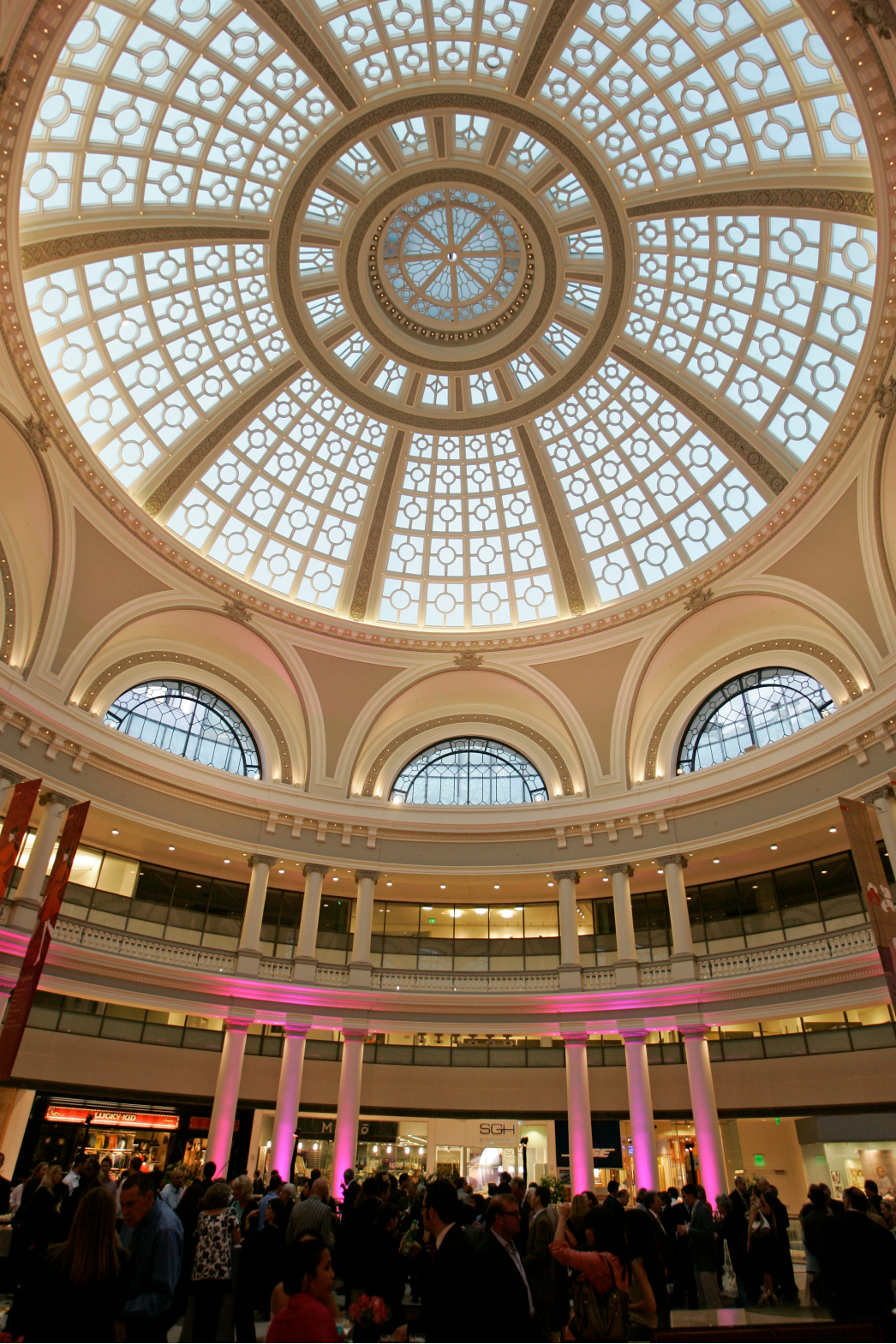 The mall REIT said foot traffic is up again at its shopping centers, and most are open, although some still have restrictions in place.