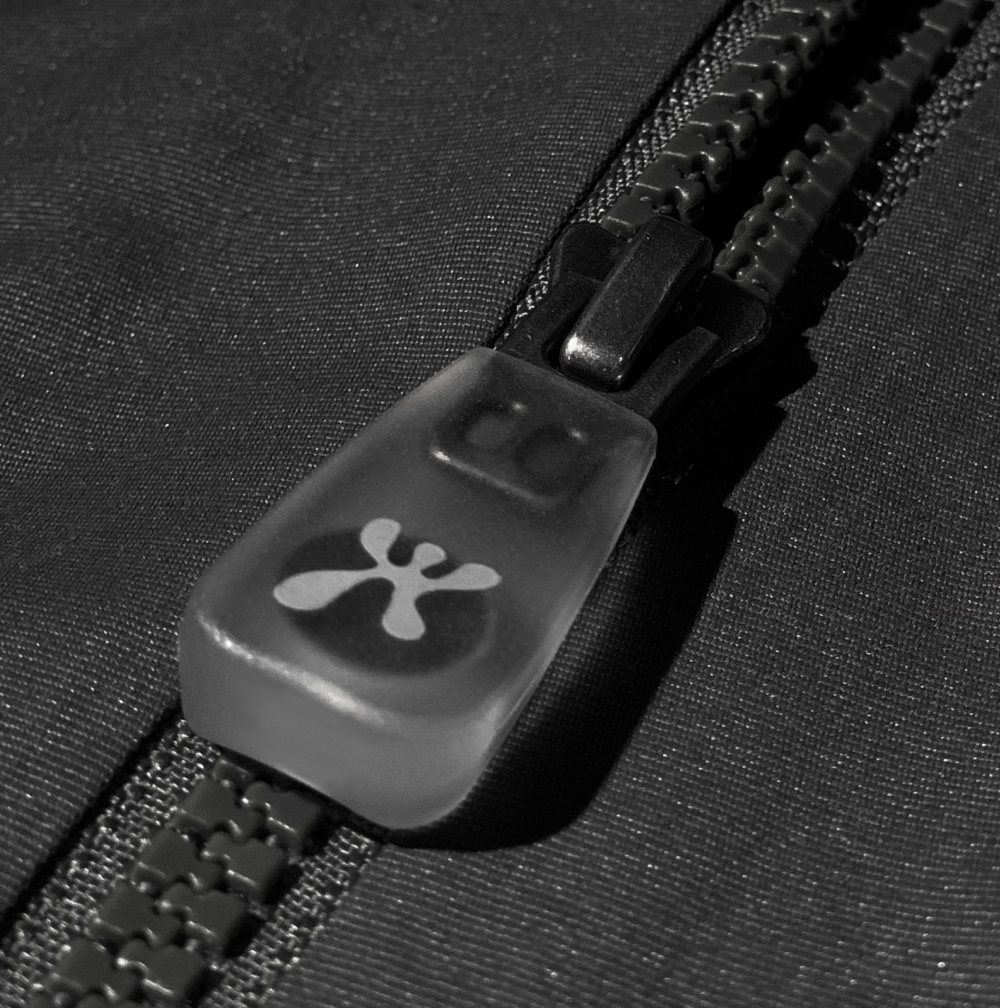 Houdini's digitized One Parka is the first parka to feature YKK's new Touchlink NFC zipper pull and be connected by the EON Product Cloud.