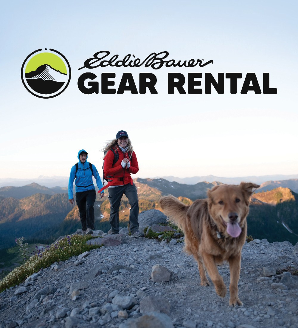 Eddie Bauer is making a move into rentals, the brand announced this week.