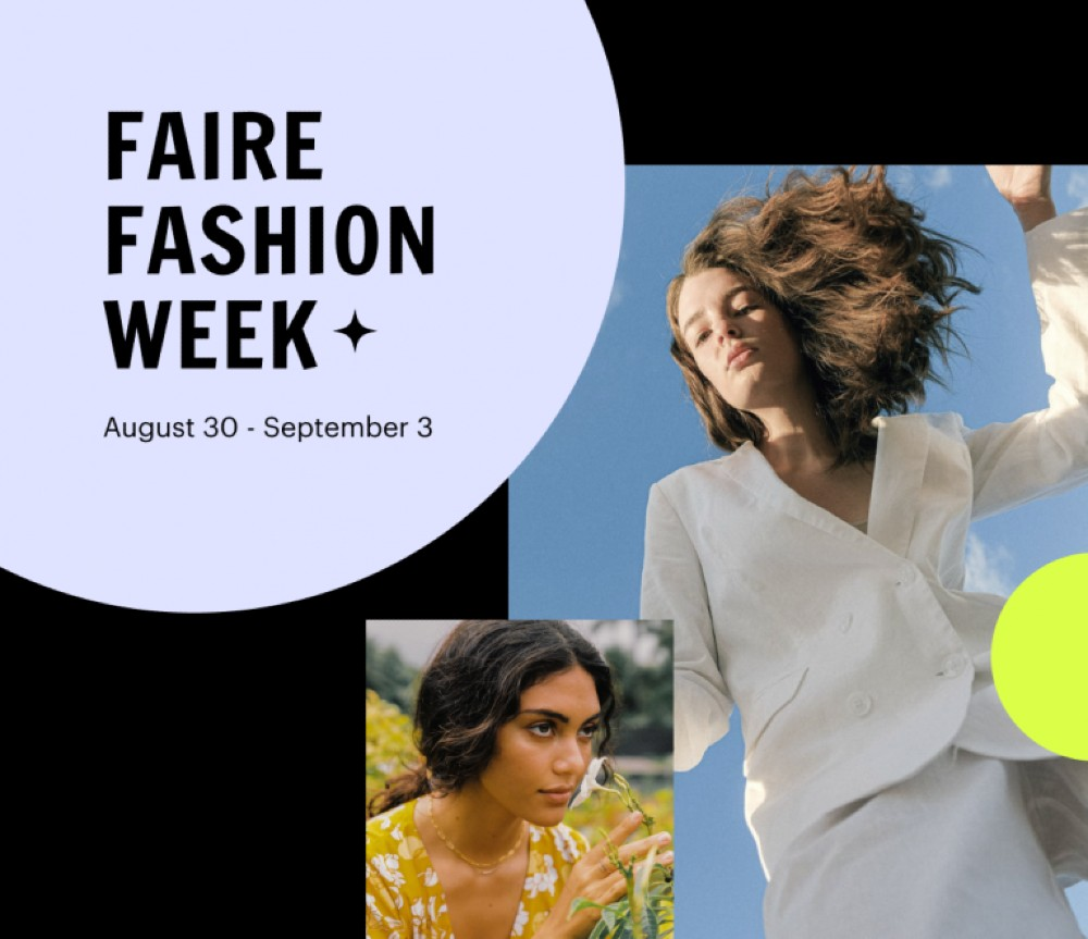 Wholesale platform Faire will host a global virtual trade show with 2,500 apparel and footwear brands and 200,000 retailers in August.