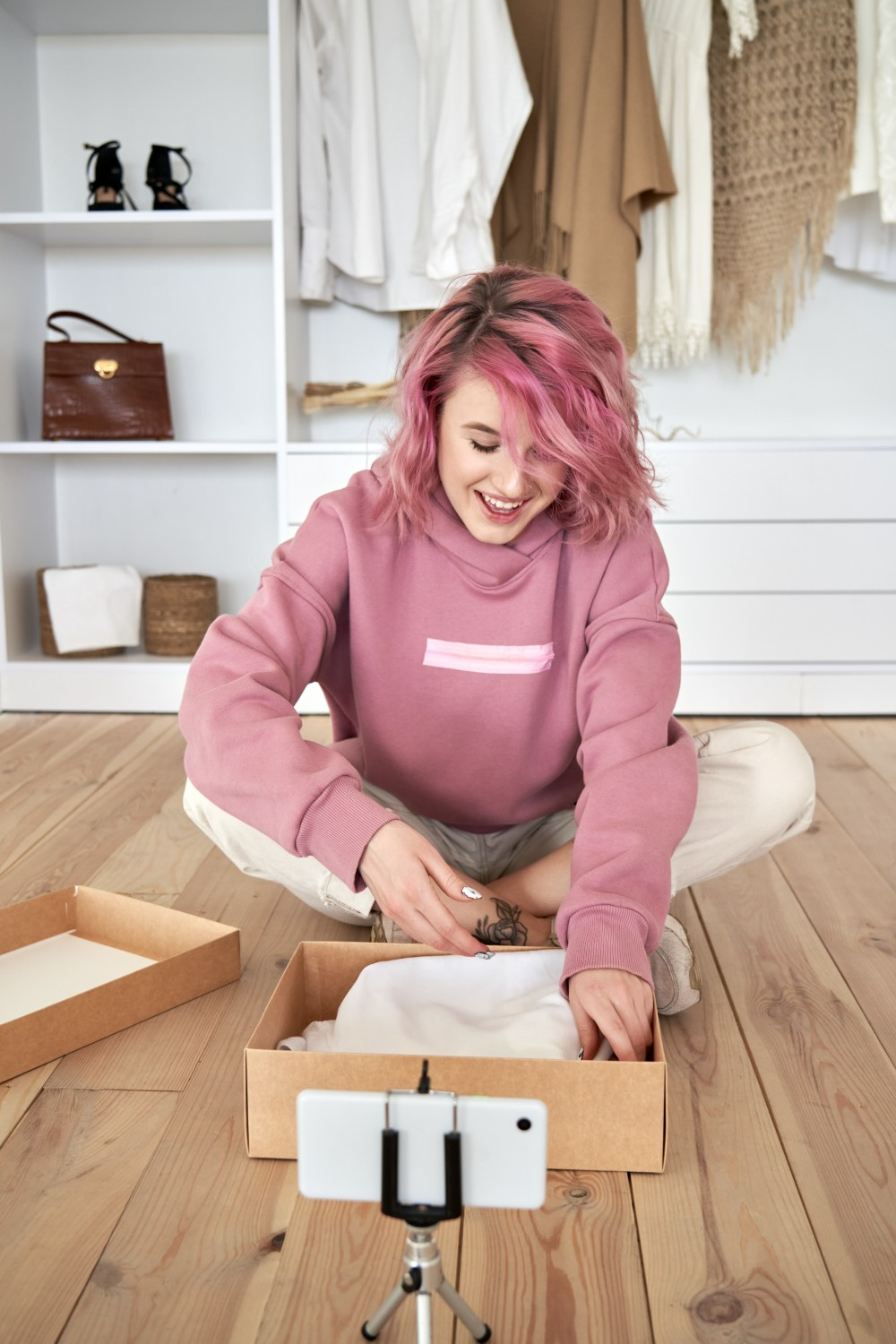A CGS report finds that Gen Z has the power to push retail trends, and they're advocating for more sustainable options like fashion resale.