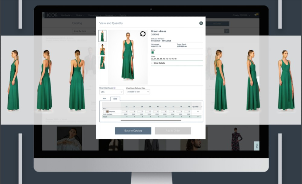 While consumer demand is on the upswing, wholesale fashion brands and retailers continue to transact through digital platforms, Joor said.