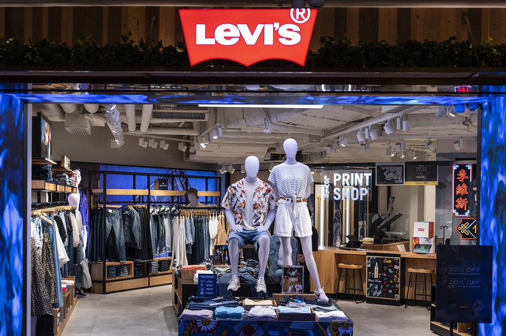 Levi Strauss saw net revenues for the second quarter jump 156 percent to $1.28 billion, turning a profit compared to a loss in 2020.