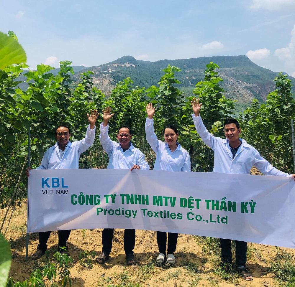 Kraig Biocraft said Prodigy Textiles, its Vietnamese subsidiary, has now produced enough silk to create several different fabric blends.