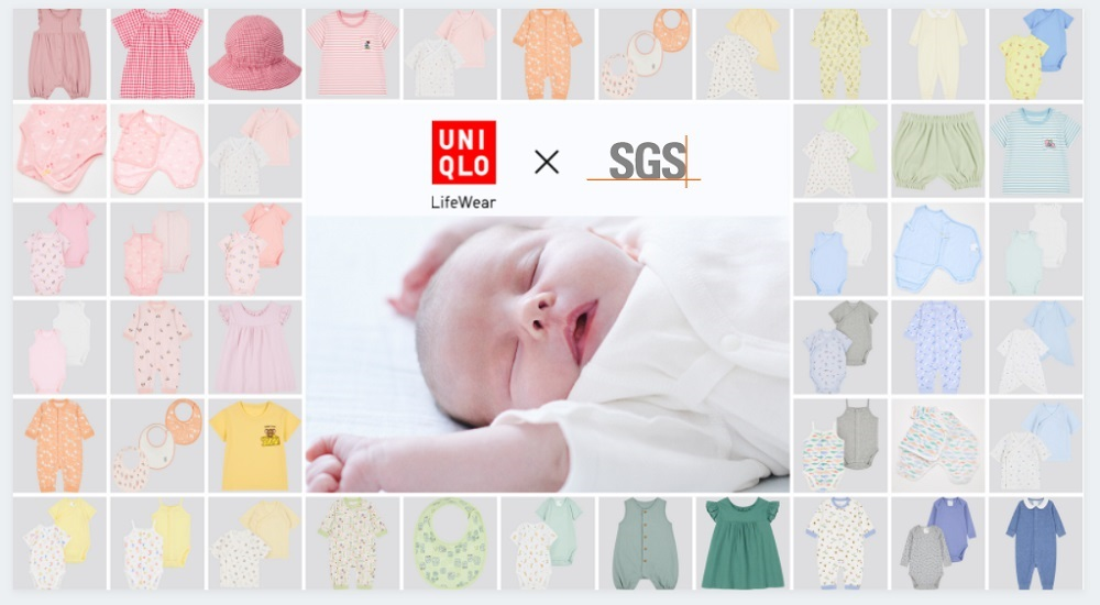 SGS, a testing, inspection and certification company, has teamed with Uniqlo to create an Independently Checked Mark for its infants' wear.