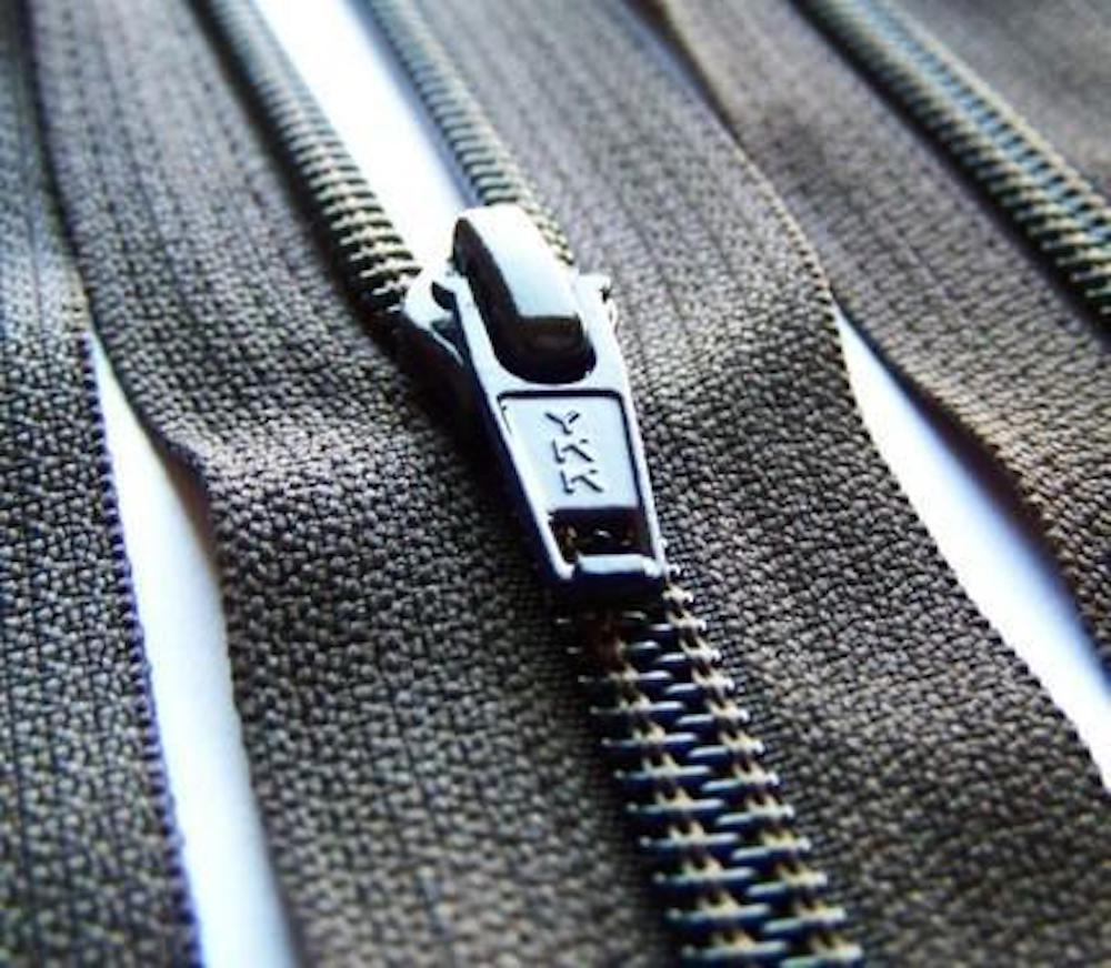 YKK made a deal with Green Theme Technologies to use its water-free and non-toxic Empel water protection technology on zippers.